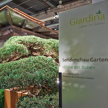 Giardina award borsch exklusive koiteiche for Exklusive gartengestaltung